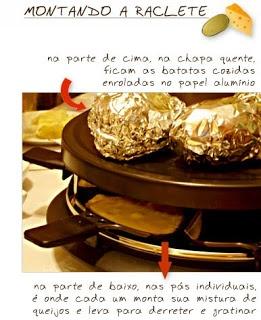 Saudade de comer Raclete...