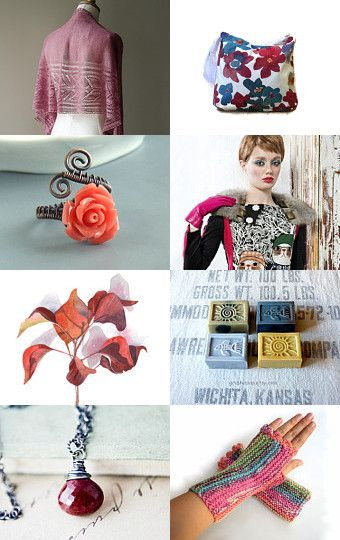 Burgundy September by Maria on Etsy--Pinned with TreasuryPin.com