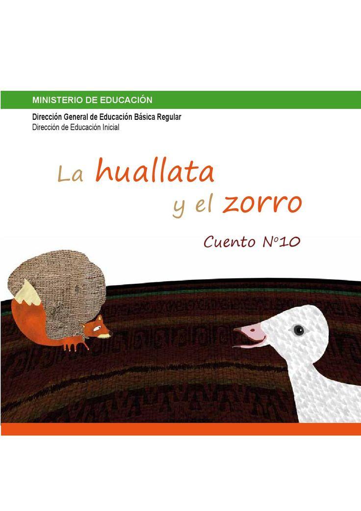 Cuento infantil peruano: La huallata y el zorro