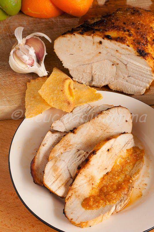 la cucina di mamma: Arrosto di tacchino ovvero Chili-citrus Turkey breast di Martha Stewart