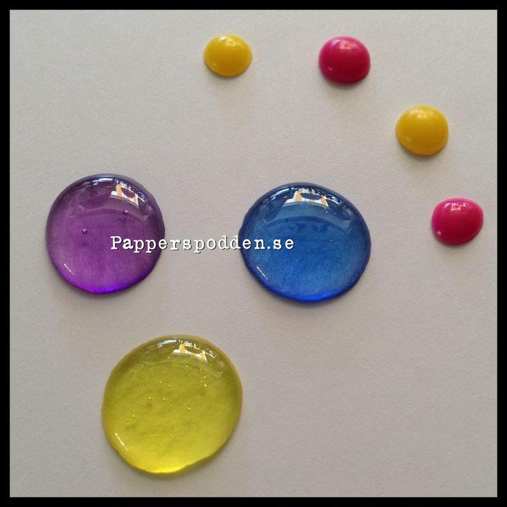 Papperspodden: DIY - Test av disktrasor och enamel dots  http://papperspodden.blogspot.se/2014/06/diy-test-av-disktrasor-och-enamel-dots.html