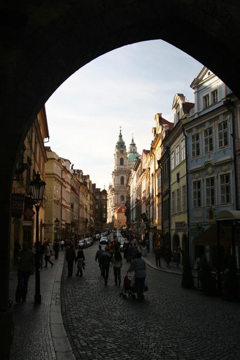 Billig shopping i Prag