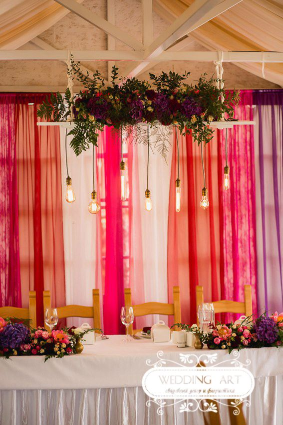 Ягодная свадьба - Свадебный декор и флористика Wedart.com.ua
