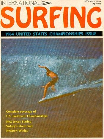 60's Classic Surf Magazines. INTERNATIONAL SURFING VOLUME 1, NO. 1 (1964)