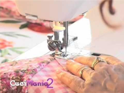 Cucimania 2 #3 - Come confezionare un cuscino (prima parte) - YouTube