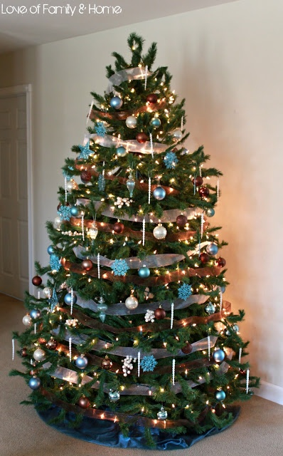 Nice Christmas Trees 187 best christmas trees decorated images on pinterest | christmas