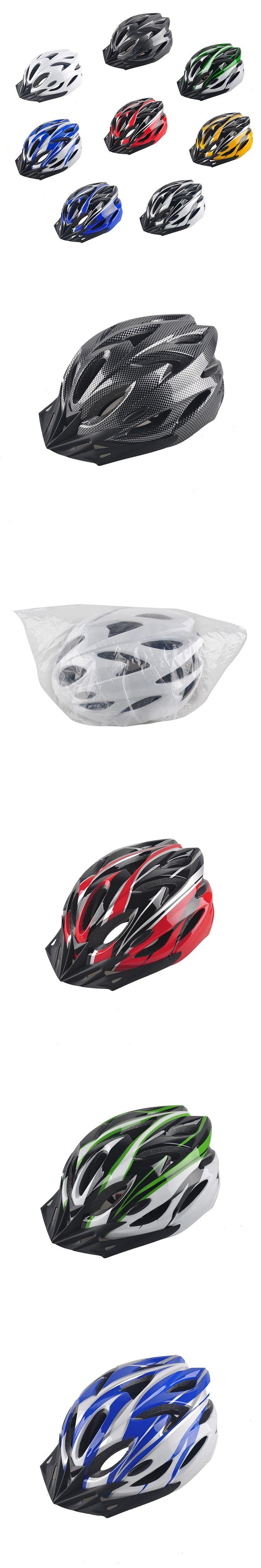 Hot Sale Mountain Bike Helmet Men Women Back Light Road Cycling Integrally Molded Safety In-mold Helmets Ultralight 8 Colors