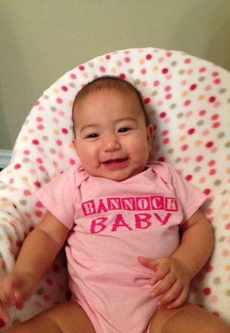 Bannock Baby Onesie - Pink – Bannock Republic Clothing
