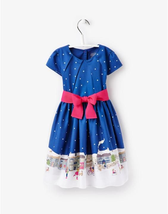 JNR CONSTANCE Girls Printed Woven Dress