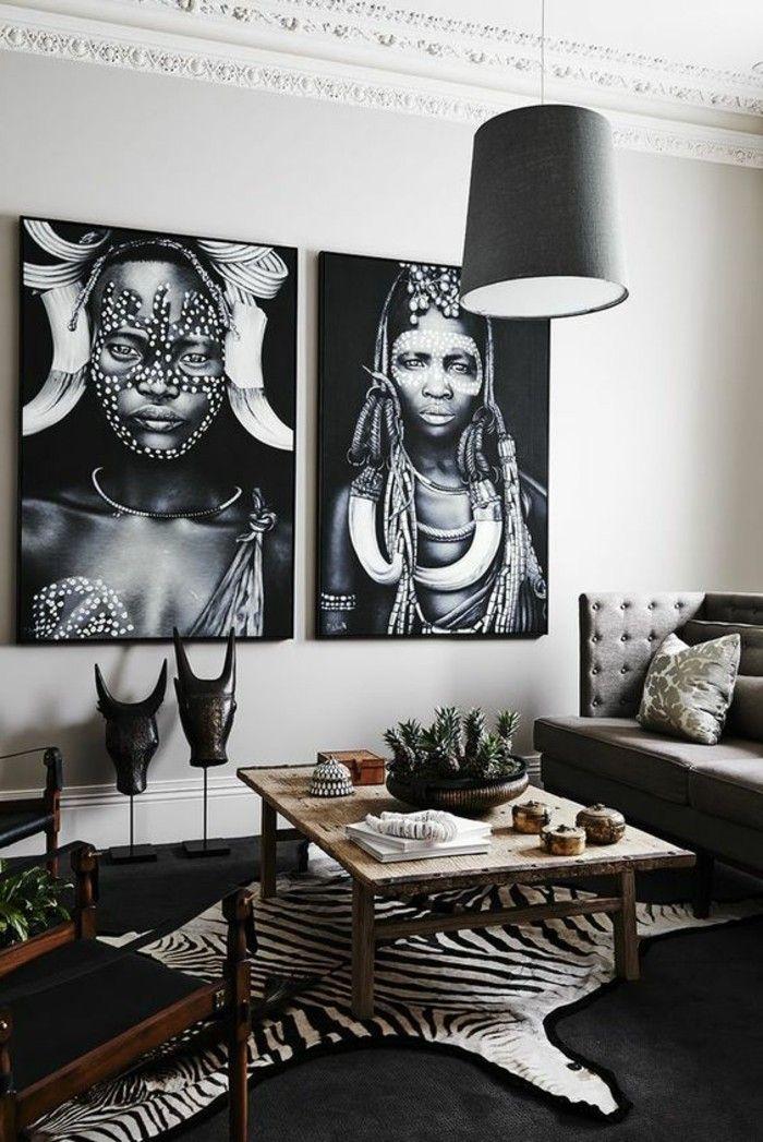 La d coration africaine diversit d ornements et for Idee deco zebre
