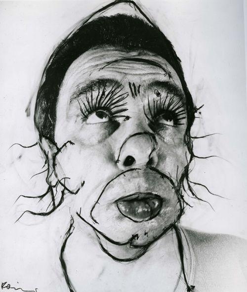 Facial view