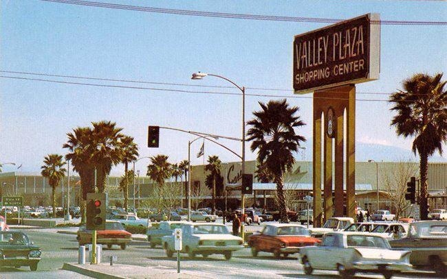 Valley Plaza When It First Opened Bakersfield Ca