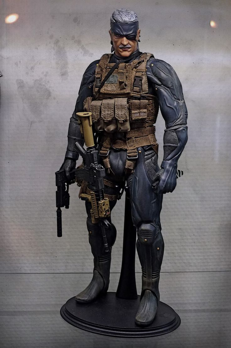 METAL GEAR SOLID by ELVIS1976 (OLD SNAKE)  - OSW: One Sixth Warrior Forum