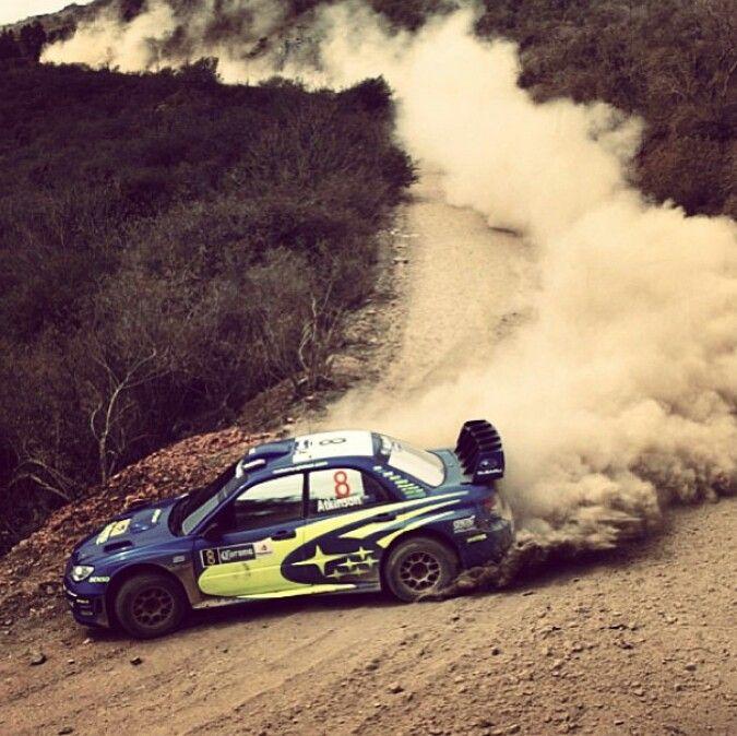 Subaru wrx sti rally car drifting it's not smoke... But it's still epic