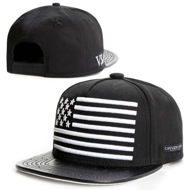 2015 new fashion black leather snapback caps baseball hats for men women sport