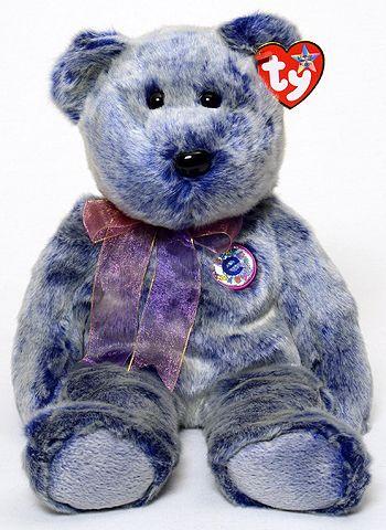 Periwinkle - bear - Ty Beanie Buddies