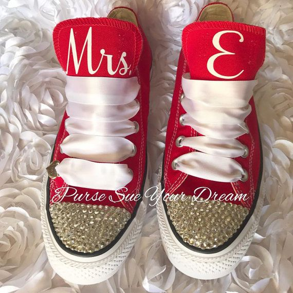 custom bridal converse wedding shoes by pursesueyourdream on etsy swarovski wedding shoes rhinestone bridal converse