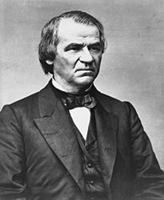 Fact: Vice-President Andrew Johnson took his presidential oath whilst completely drunk