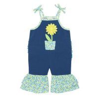 Ruffle Leg Overalls - Reduced to $32.95* for a limited time! Follow the link to buy it instore at http://www.mamadoo.com.au/baby-clothes/baby-girl-clothes/baby-girl-onesies/  #mamadoo #baby #girls #onesies #clothes #fashion #cuteas #pretty #gorgeous