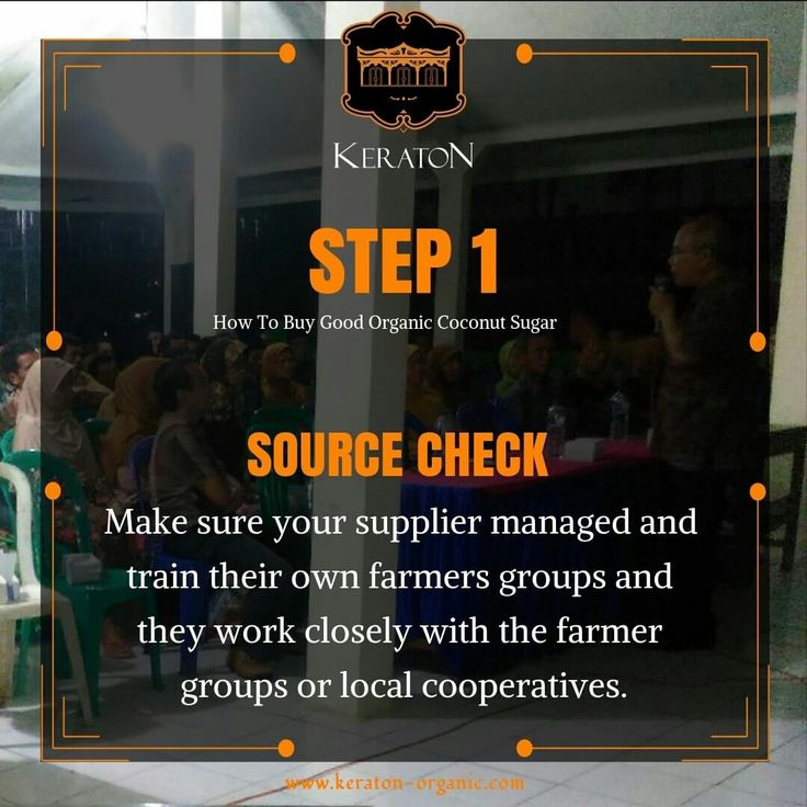 This is the first and most important step. Your source of origin supplier must manage their own farmers and their field integratedly. If not, the organic status will be very much in question.🤔 So, ask your local supplier if they are buying from the direct company who manage their own field, and if they can trace back their source of product to the farmers. Encourage them to buy only the traceable organic produce. Every organic produce must be traceable to the source (farmers)‼️✅  #organic…