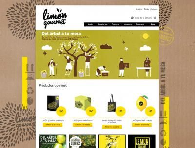 Limon Gourmet. www.limongourmet.com #web #ecommerce