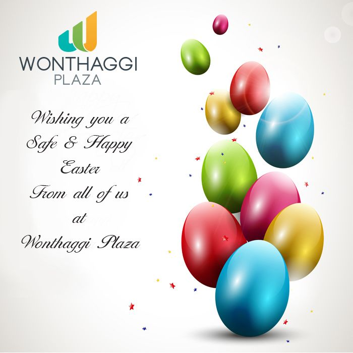 Easter promotional poster
