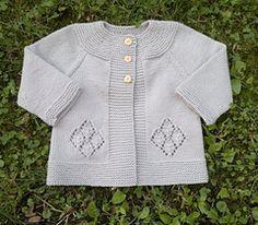 Perla Cardigan -- free pattern