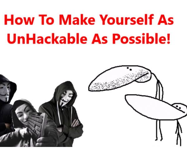 (PG-13 Language) Rudimentary and rude video maker GradeAUnderA shares some actually very useful advice on preventing hackers from messing with and/or stealing your sh*t. P.S. It's authentication, not authentification, Grade.