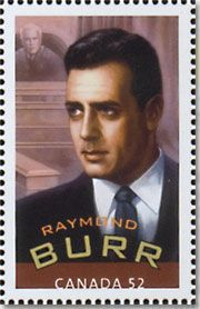 Commemorative Stamp | collecting stamps and coins - Raymond Burr commemorative stamp