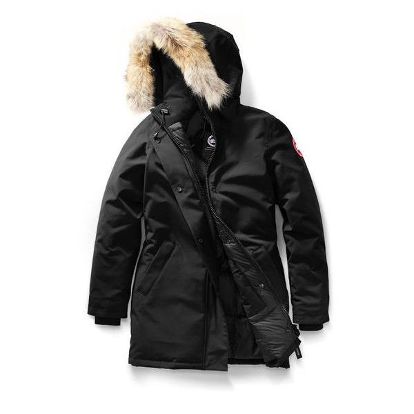 Victoria Parka Canada Goose (54.190 RUB) ❤ liked on Polyvore featuring outerwear, coats, canada goose coats, canada goose, canada goose parka and parka coat