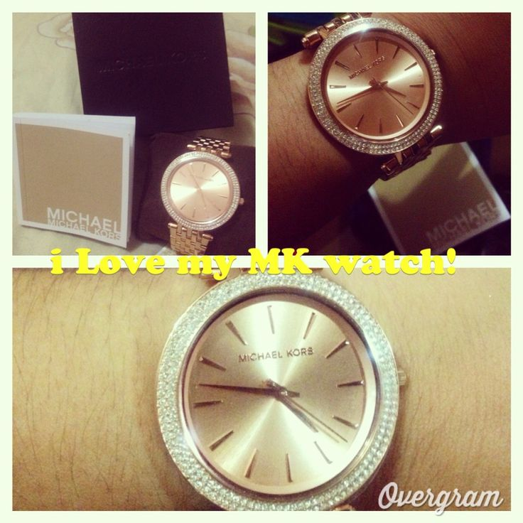 My Michael Kors watch in Rosegold.. Super nice..⌚