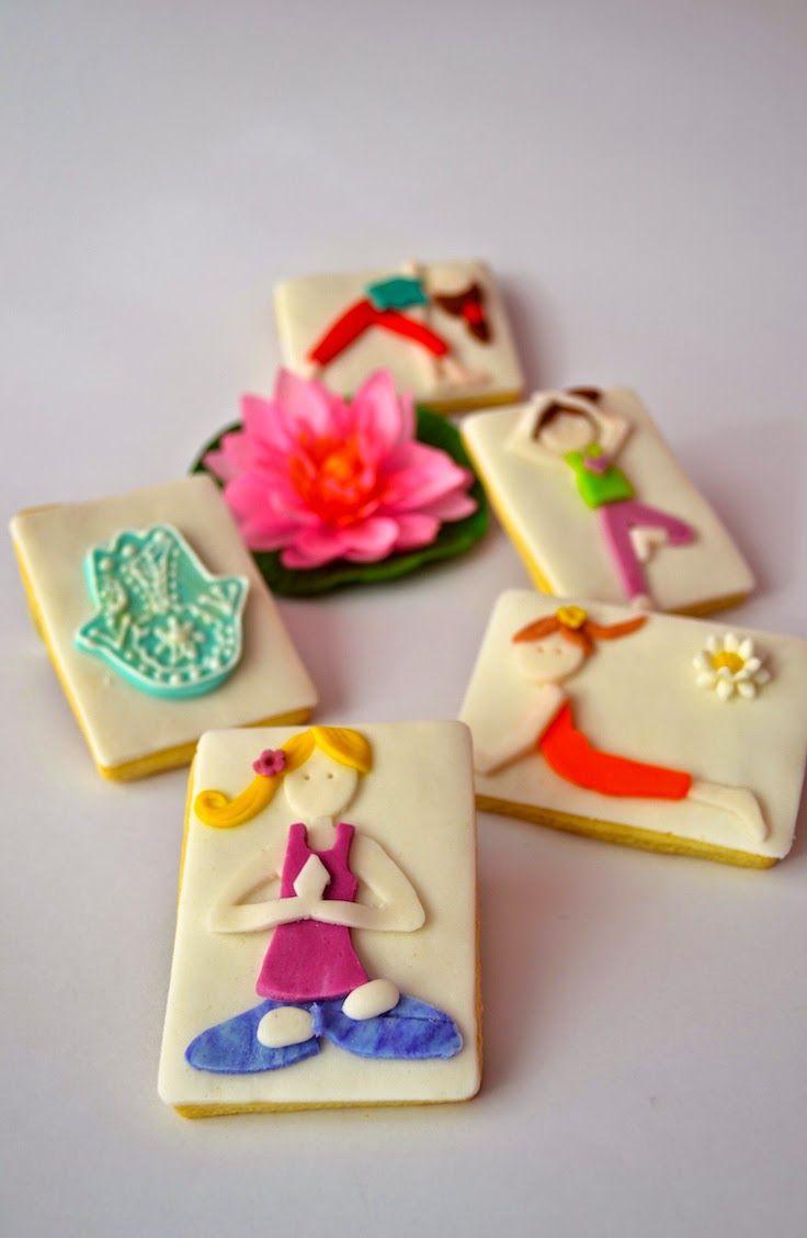 Hamsa hand, Yoga, Meditation, Lotus flower, Cookie, Fondant