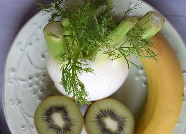 Pain au chocolat: Green smoothie: frullato di frutta