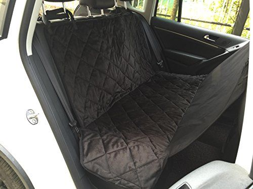 EZPETS Dog Seat Covers For CarsDog Car Seat Hammock ConvertibleUniversal FitExtra Side FlapsExclusive NonslipWaterproof Padded Quilted (Back Seat Hammock L)