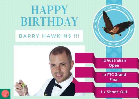 Snooker, my love: Happy birthday Barry Hawkins!