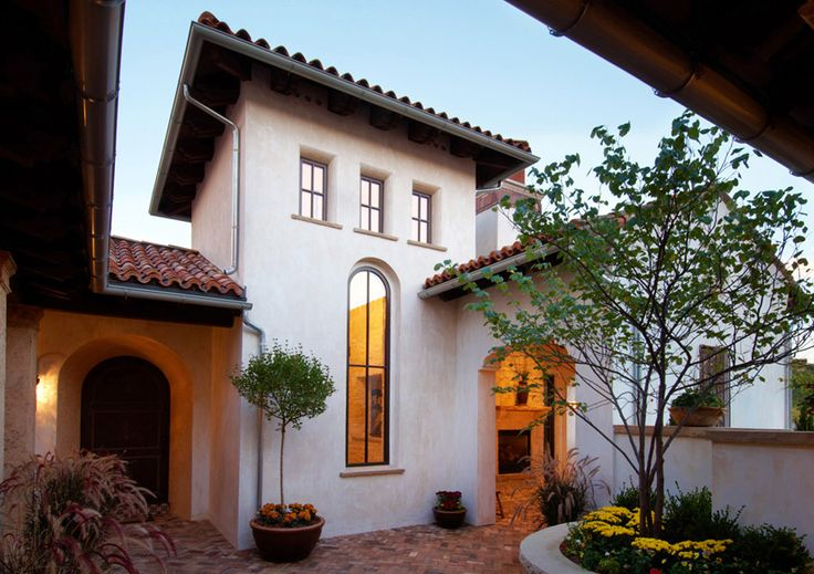 101 best images about spanish style house on pinterest for Spanish revival home plans