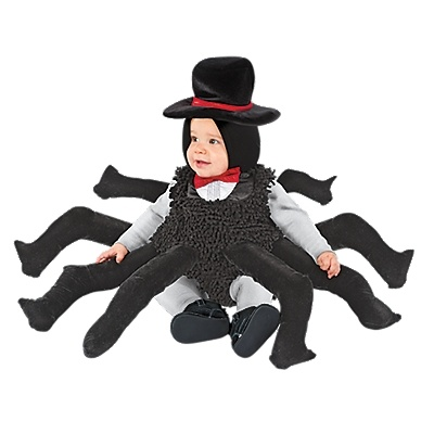 baby u0026 toddler spider costume halloween from one step ahead baby