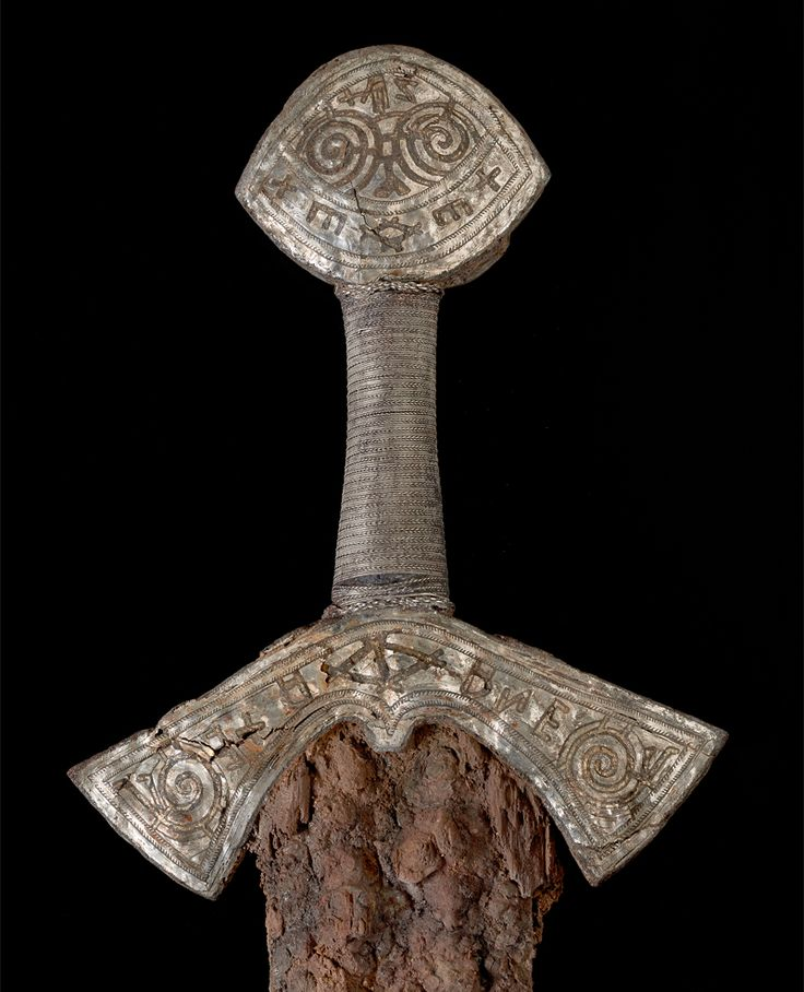 Viking sword. Image: Ellen C. Holthe, Museum of Cultural History, University of Oslo