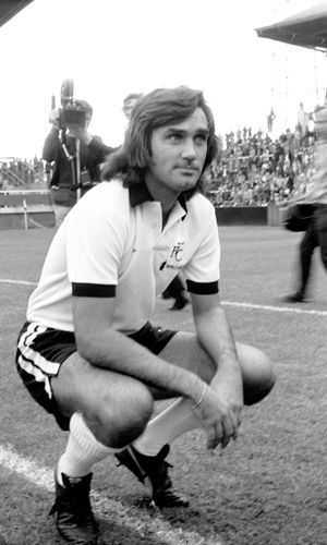 25 september 1976 In what was a huge coup for Division Two Fulham, European Cup winner and Manchester United legend George Best signed for the Club. Best scored the winner 71 seconds into his debut in a 1-0 win over Bristol Rovers at the Cottage, and his link up play with Rodney Marsh would marvel and delight the Craven Cottage faithful over the next season