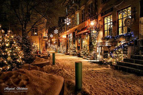 christmas, cold, dark, decoration