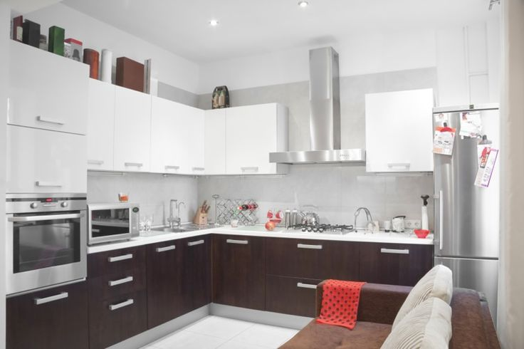 Contemporary Kitchen - Chestnut Cabinets