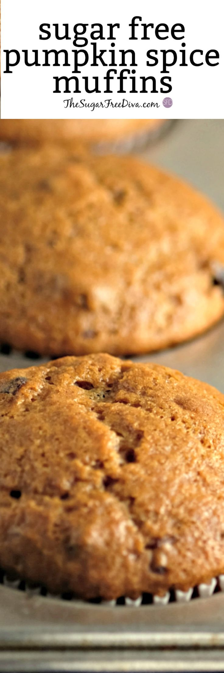 Enjoy that PUMPKIN SPICE MUFFIN without all of the sugar added to it with this easy recipe that is perfect for a snack, breakfast or just about anything else. Perfect for fall baking and Halloween Too!