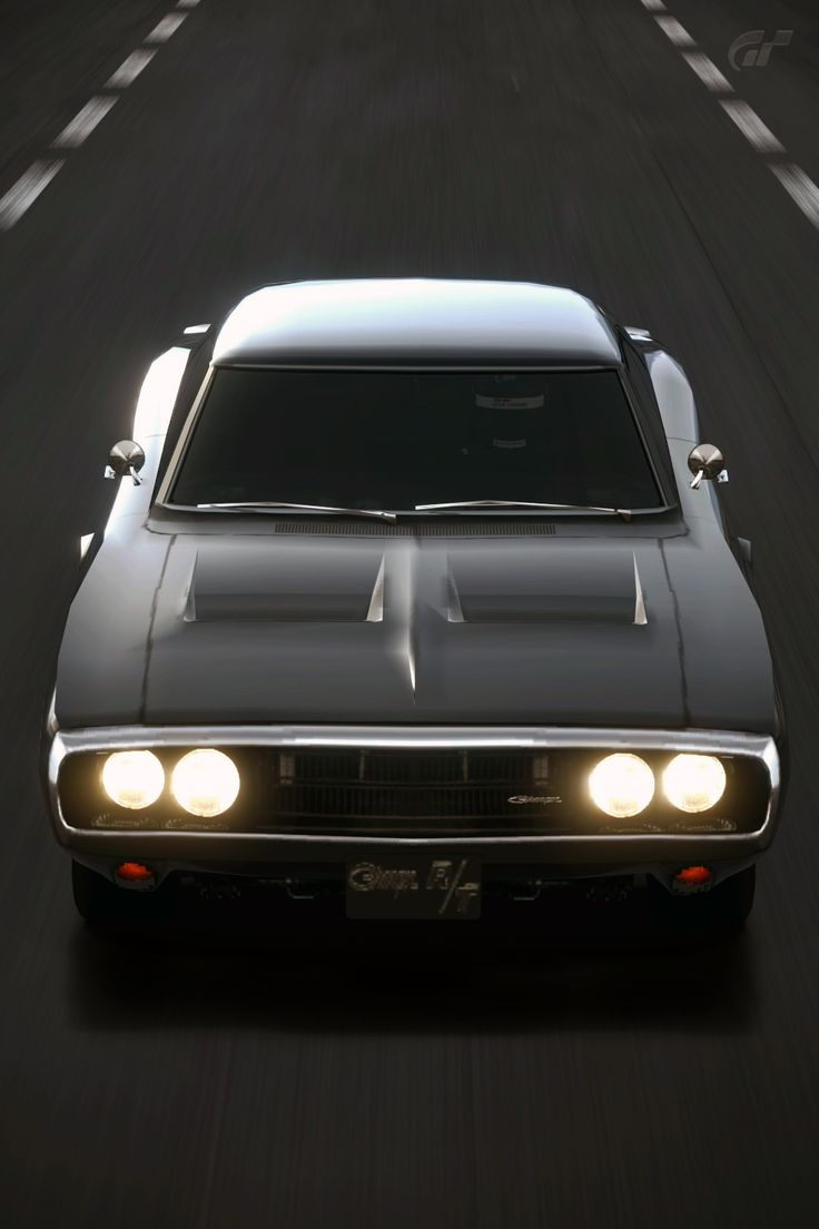 Charger Rt Dodge Charger R T Dodge Black Tires Muscle: 1970 Dodge Charger R/T 440 (Gran Turismo 5) By