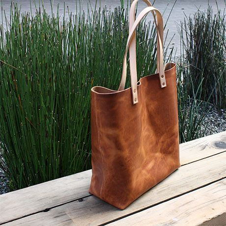 13 best images about Leather Tote Bags on Pinterest | Leather tote ...