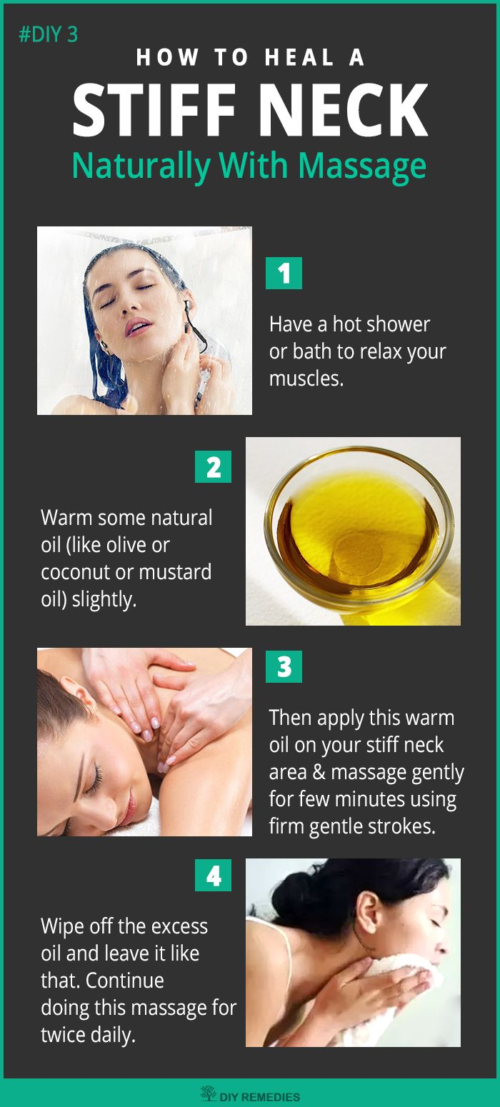 Natural Massage for Stiff Neck  Massage will definitely relax your sore and stiff neck muscles by increasing the proper blood circulation. Regular following will treat your stiff neck and enhance for better sleep. #StiffNeck #Message #DIYRemedies
