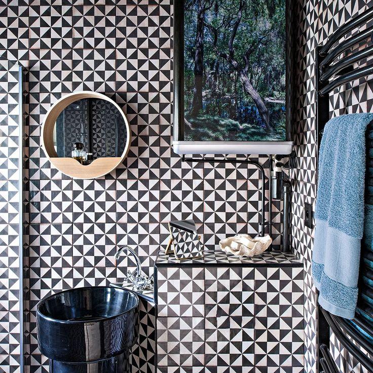 1043 best salle de bains bathrooms images on pinterest. Black Bedroom Furniture Sets. Home Design Ideas