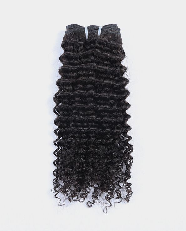 A1006 Indian Deep Wave Curly human hair extensions