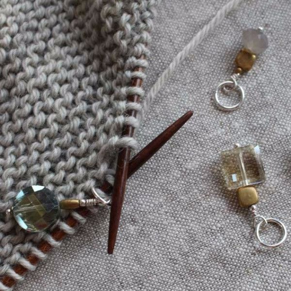 Wool and Wire Stitch Markers - Knitting Essentials - Tangled Yarn UK