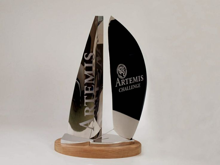 Multihull and monohull combined sailing trophy.