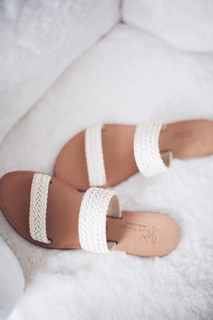 Woven Italian Leather Sandals